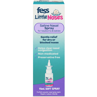 Fess Little Noses Spray Without Aspirator 15ml
