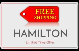Free Shipping in Hamilton